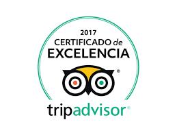 Certificado de Excelência 2017 da Tripadvisor