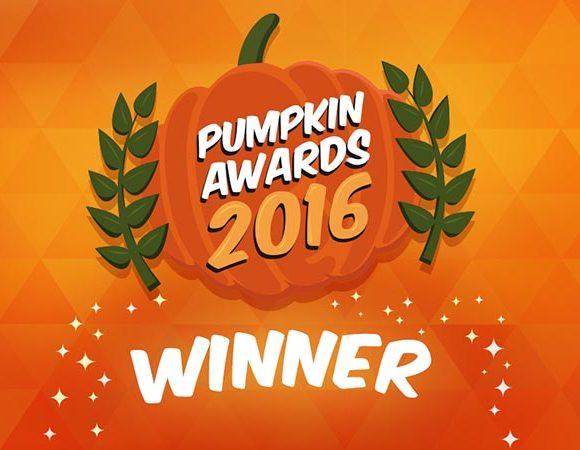 """Pumpkin awards 2016 para """"Melhor Museu para famílias"""""""